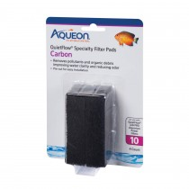 Aqueon Replacement Carbon Filter Pads Size 20/75 4 pack