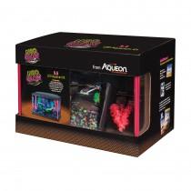 "Aqueon Betta Bowl Aquarium Kit Blue 9.1"" x 5.1"" x 7.2"""