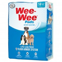 "Four Paws Wee-Wee Pads 14 pack White 22"" x 23"" x 0.1"""