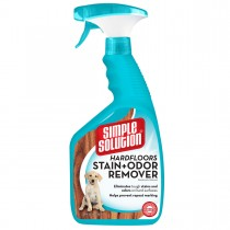 "Simple Solution Hardfloors Stain and Odor Remover 32oz 2.9"" x 4.8"" x 10.75"""