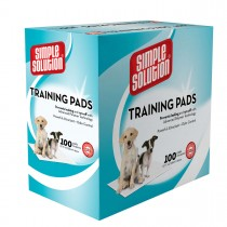 "Simple Solution Training Pads 100 count Large 23"" x 24"" x 0.1"""