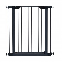 "Midwest Glow in the Dark Steel Pressue Mount Pet Gate Tall Graphite 29.5"" x 38"" x 29.88"""