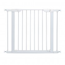 "Midwest Steel Pressure Mount Pet Gate White 29.5"" - 38"" x 1"" x 29.875"" - 2929SW"