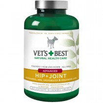 "Vet's Best Dog Advanced Hip and Joint Supplement 90 Tablets Green 3"" x 3"" x 5.75"""