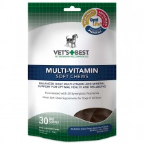 Vet's Best Multi-Vitamin Dog Soft Chews 30 count