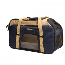 "Bergan Pet Top Opening Comfort Carrier Large Navy 19"" x 10"" x 13"" - BER-88922"