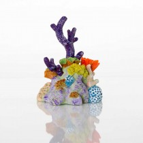"BioBubble Decorative Pacific Reef Small 5"" x 5"" x 6.5"" - BIO-60183300"