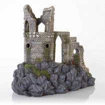 "BioBubble Decorative Mow Cop Castle Large0 12.5"" x 11.25"" x 8"""