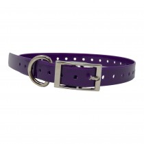 "The Buzzard's Roost Replacement Collar Strap 3/4"" Purple 3/4"" x 24"""