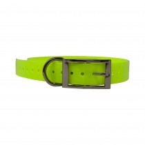 "The Buzzard's Roost Replacement Collar Strap 1"" Neon Yellow 1"" x 24"""