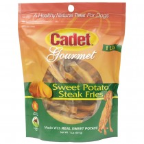 Cadet Sweet Potato Steak Fries Treats 1 pound