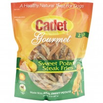 Cadet Sweet Potato Steak Fries Treats 2 pounds