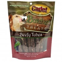 Cadet Butcher Treats Beefy Tubes 12 ounces