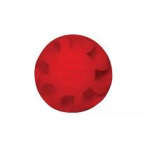 "Hueter Toledo Soft Flex Swirel Ball Dog Toy Red 7"" x 7"" x 7"""