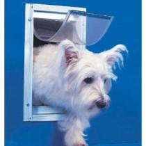 Ideal Deluxe Dog Door Small White - DDSW