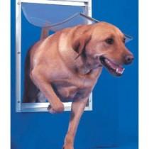 Ideal Deluxe Dog Door Extra Large White - DDXLW