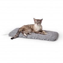 """K&H Pet Products Thermo-Plush Pet Pad Small Gray 12.5"""" x 25"""" x 1"""""""