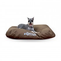 "K&H Pet Products K-9 Ruff n' Tuff Indoor-Outdoor Pet Bed Medium Chocolate 27"" x 36"" x 3"""