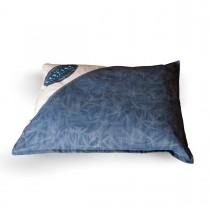 "K&H Pet Products Vintage Single-Seam Pet Bed Genuine Logo Large Blue / Gray 35"" x 44"" x 3.5"""