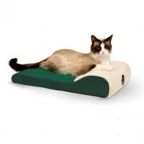 "K&H Pet Products Ultra Memory Chaise Pet Lounger 14"" x 22"" x 4"""