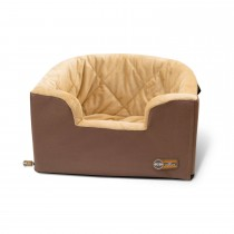"K&H Pet Products Hangin' Bucket Booster Pet Seat Tan 16.5"" x 13.5"" x 30"""