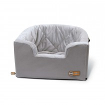 """K&H Pet Products Hangin' Bucket Booster Pet Seat Gray 16.5"""" x 13.5"""" x 30"""""""