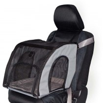 K&H Pet Products Travel Safety Carrier Gray