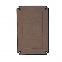K&H Pet Products Odor-Control Dog Crate Pad Mocha
