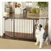 "North States Deluxe Décor Wall Mounted Matte Bronze Gate 37"" - 71"" x  30.7"" - NS4934"