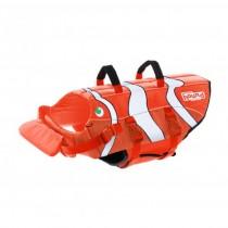 Outward Hound Ripstop Fun Fish Dog Life Jacket Orange