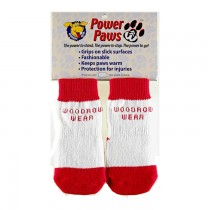 Woodrow Wear Power Paws Advanced Red/White Stripe