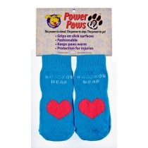 Woodrow Wear Power Paws Advanced Blue/Red Heart
