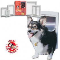 Ideal Original Pet Door Small White - PPDS