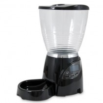 "Petmate Le Bistro Programmable Feeder 10 lbs Black 10"" x 15.8"" x 18.2"" - PTM24240"