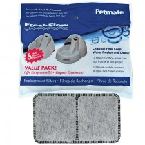 "Petmate Fresh Flow Replacement Filter 6 count 8.3"" x 0.6"" x 6.1"" - PTM24898"