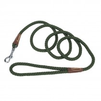 Braided Rope Dog Snap Leash 6 Feet
