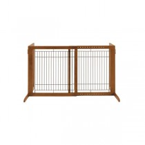 "Richell Freestanding Pet Gate HS Autumn Matte 28.3"" - 47.2"" x 23.6"" x 27.6"" - R94146"