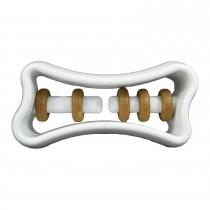 """Starmark Dog Treat Ringer Bone White 6"""" x 3.75"""" x 2"""""""
