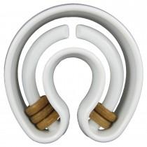 "Starmark Dog Treat Ringer Horseshoe White 5.7"" x 5.5"" x 2.2"""