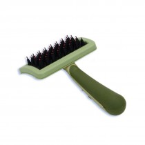Nylon Coated Tip Dog Brush for Shorthaired Breeds