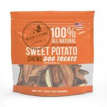 "Wholesome Pride Sweet Potato Dog Chews 16 ounces 3"" x 8.75"" x 9"""