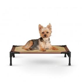 """K&H Pet Products Comfy Pet Cot Tan/Mocha 17"""" x 22"""" x 7"""" - KH1600"""