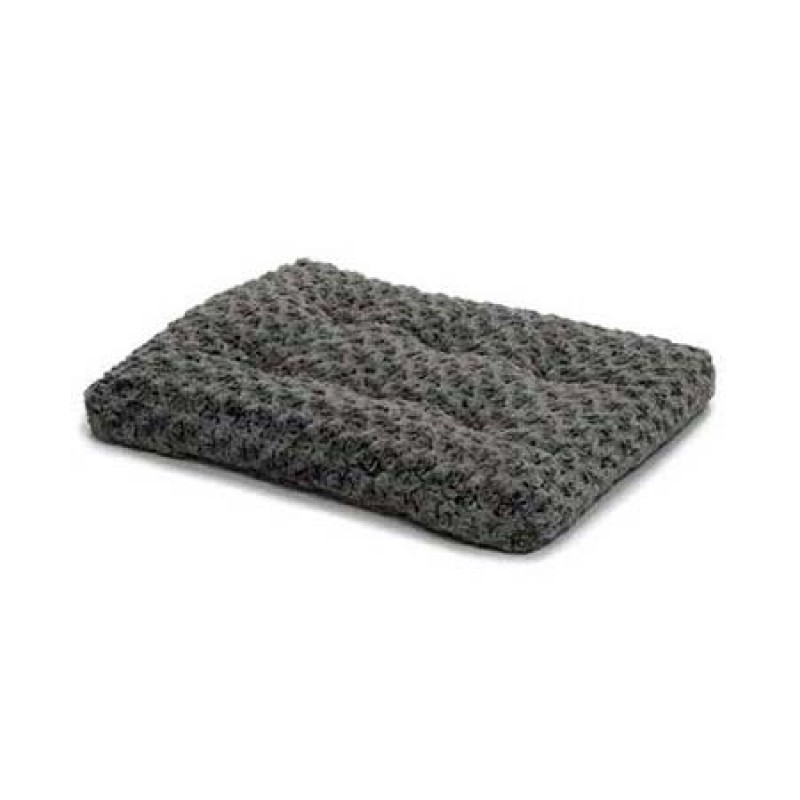 Midwest Quiet Time Deluxe Ombre' Bed Light Gray
